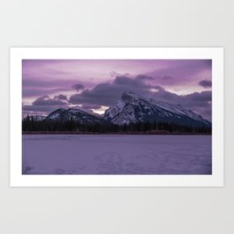 Vermillion Sunrise Art Print