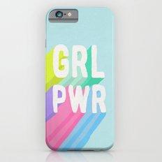 GRL PWR x Blue Slim Case iPhone 6s