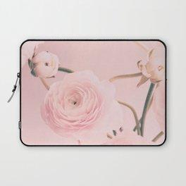 Pink Floral Nursery Ranunculus Laptop Sleeve
