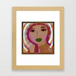 foto booth Framed Art Print