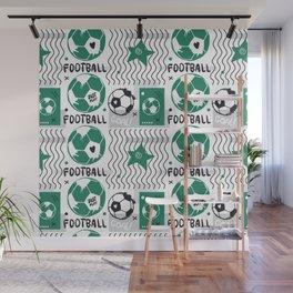Football pattern#6 Wall Mural