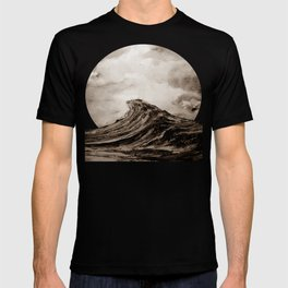 The WAVE - sepia T-shirt