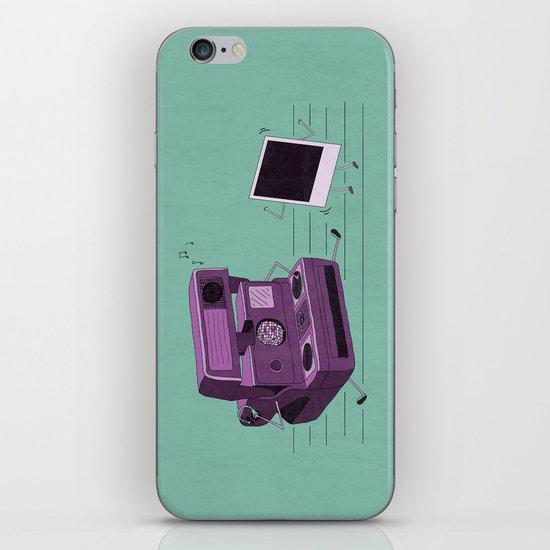 Shake It Like A Polaroid Picture iPhone & iPod Skin