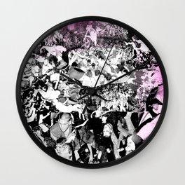 Punk Show Slam Pit Wall Clock