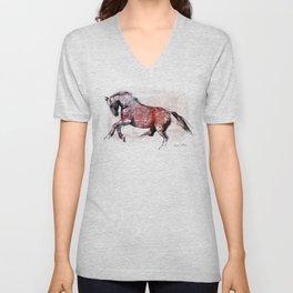 Horse (Dziki/Wild) Unisex V-Neck