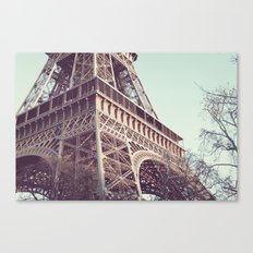 Daydreams at the Eiffel Canvas Print