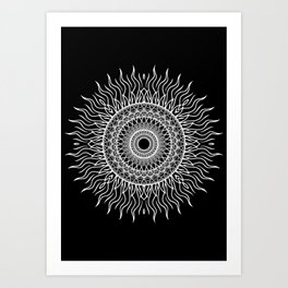 NAKED GEOMETRY no 2 Art Print