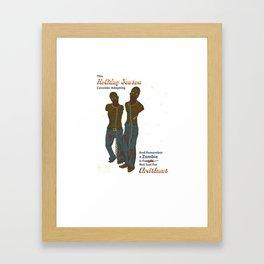 Adopt a Zombie PSA Framed Art Print