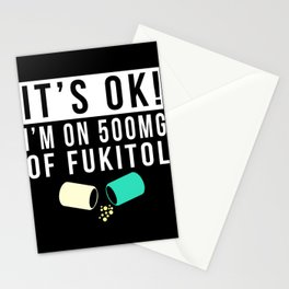 Nurse Funny Gift Idea Stationery Cards