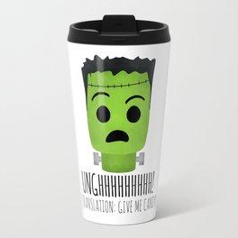 Frankenstein Wants Candy Travel Mug