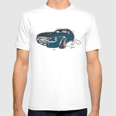 new Car ?? Mens Fitted Tee SMALL White