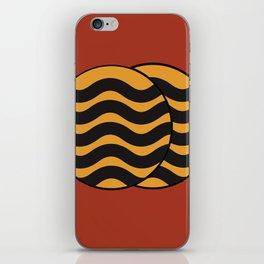 Circular Waves iPhone Skin