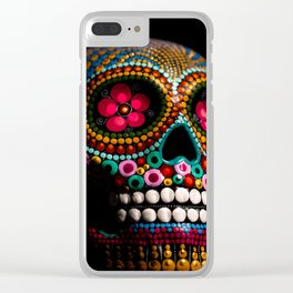 Halloween Face Clear iPhone Case