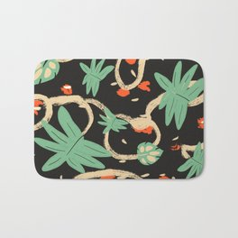 Jungle pattern Bath Mat