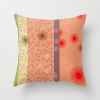yoshi Throw Pillows featuring yoshi by fiona mcdonald