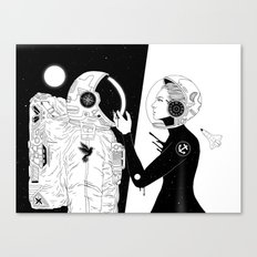 I Found a Space for Us Canvas Print