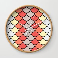 Slice of Bright Wall Clock