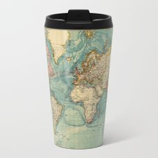 Adventure awaits world map travel mug by hipster society6 adventure awaits world map travel mug sciox Image collections