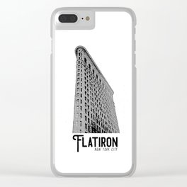 Flatiron NY Clear iPhone Case