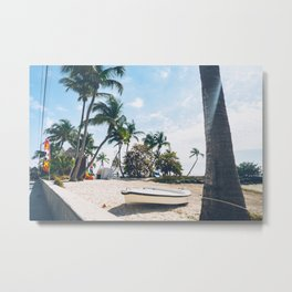 Beach in Key West Metal Print