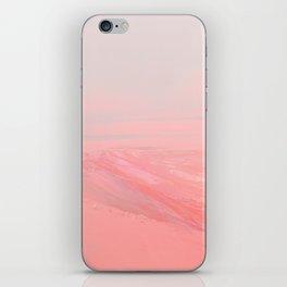 CHEMIN ROSE iPhone Skin