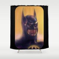 bats Shower Curtains featuring Bats by Jason Wright