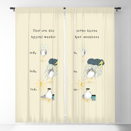 Three Types of Weather Blackout Curtain