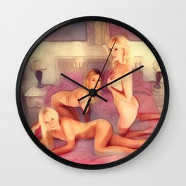The Coven Wall Clock