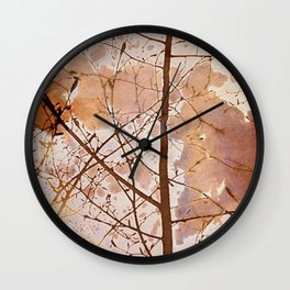 Autumn Tiles Wall Clock