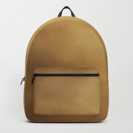 Modern elegant abstract faux gold gradient Backpack