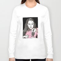 jessica lange Long Sleeve T-shirts featuring Jessica by BlushBoundJazzy