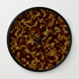 Paint Texture Surface 34 Wall Clock