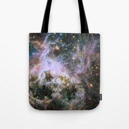Cosmic Tarantula Nebula (infrared view) Tote Bag