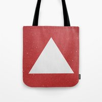 abyss Tote Bags featuring Abyss by Roxy Leaver