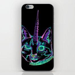 Punk Caticorn iPhone Skin