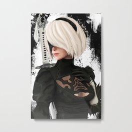 2B by Jason Oakes Metal Print