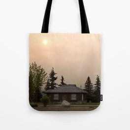Morning Haze Tote Bag