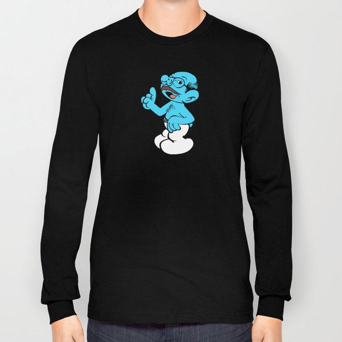 Tobias Smurf Long Sleeve T-shirt