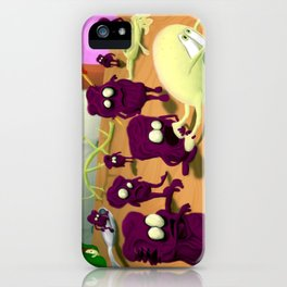 Zombie Grapes iPhone Case