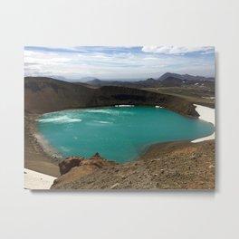 Lake Myvatn Metal Print