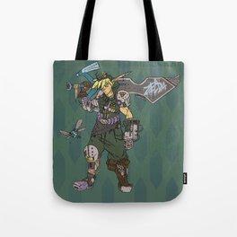 Cyber Hero of Time Tote Bag