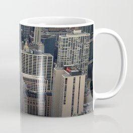 Michigan Avenue Bridge: A Bird's Eye View (Chicago Architecture Collection) Coffee Mug