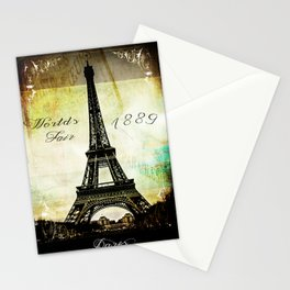 The Worlds Fair of 1889 Stationery Cards