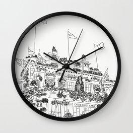 the churchill arms Wall Clock