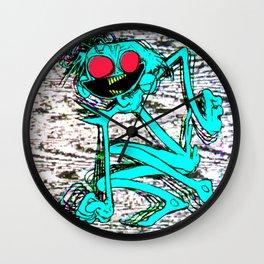 jackie attackie Wall Clock