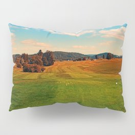 Summer season at the golf club | landscape photography Pillow Sham