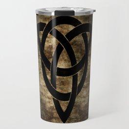 Wooden Celtic Knot Travel Mug
