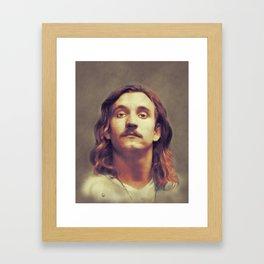 Joe Walsh, Music Legend Framed Art Print