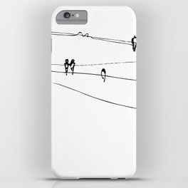 swallows iPhone Case