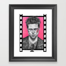 Who Is Tyler Durden? Framed Art Print
